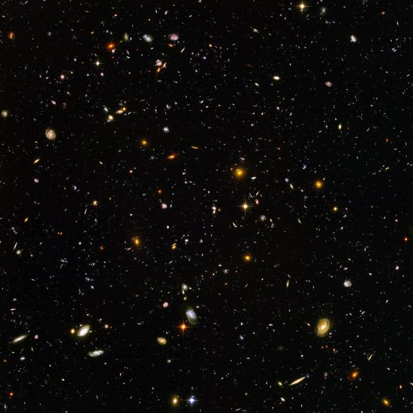 Hubble Ultra Deep Field Photo