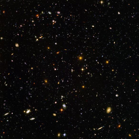 Hubble Ultra Deep Field Photo