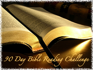 90 day Bible Reading Challenge